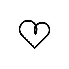 Heart Vector Template Design