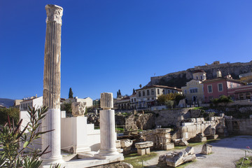A view of the old district of Athens