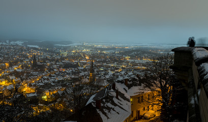 Wernigerode Winter Evening