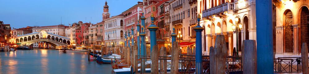 Rialto Bridge and Grand Canal Venice, Italy