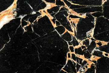abstract structure of black golden marble texture pattern