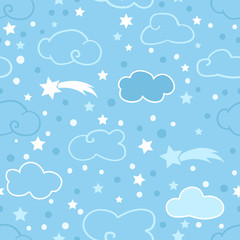 Clouds sky pattern