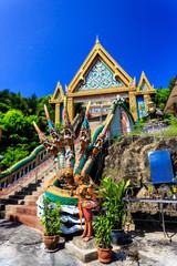 Wat Khao Rang temple at sunny morning. Phuket. Thailand