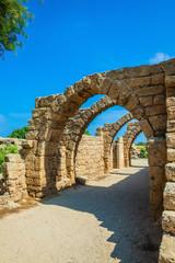 National park Caesarea on the Mediterranean Sea
