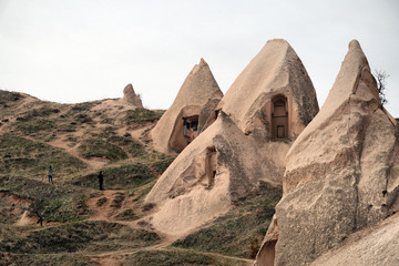 Cave Homes in Uchisar, Cappadocia