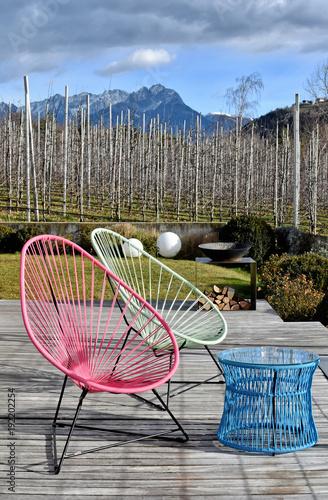Gartenmöbel Retro   60er Jahre