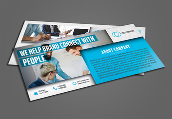 DL Flyer Layout with Blue Accents 1