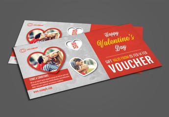 Valentine's Day Voucher Layout 1