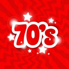 70's / The seventies