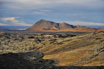 Iceland. Krafla Lava Fields