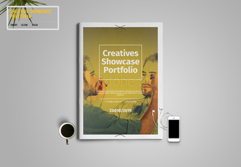 Creative Showcase Portfolio Layout 1
