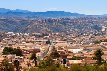 Sucre aerial view, Bolivia