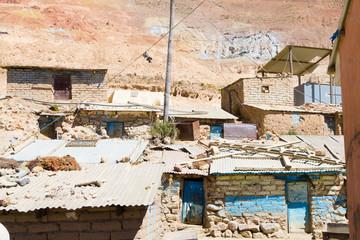 Potosi mining city view,Bolivia