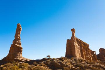 Rock formation near Tupiza,Bolivia