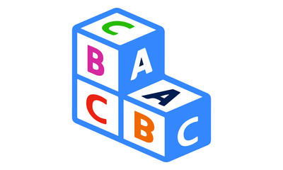 Alphabet Cubes Icon