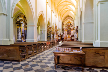 Santini Church, Zdar nad Sazavou, Czech republic