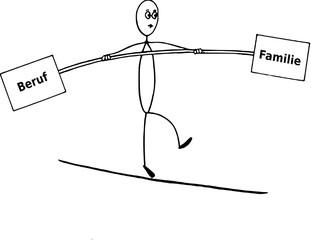 Balance zwischen Beruf und Familie, Burnout