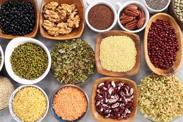 Healthy organic food.