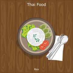 thai food Rice object