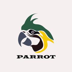 parrot vector symbol