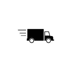 truck on the road icon. Element of logistic for mobile concept and web apps. Icon for website design and development, app development. Premium icon