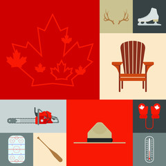Canadian Icon Set