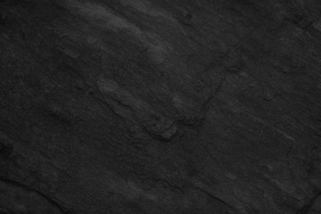 Stone black slate background texture, luxury blank for design
