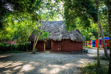 Hut in Chichen itza