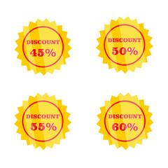 Discount Label Design
