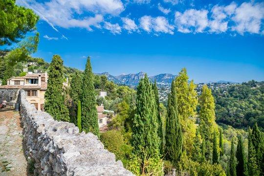 Saint-Paul-de-Vence, Alpes-Maritimes, France.