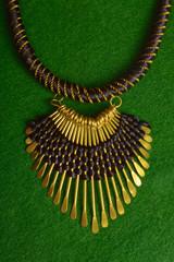 Black & Golden Necklace