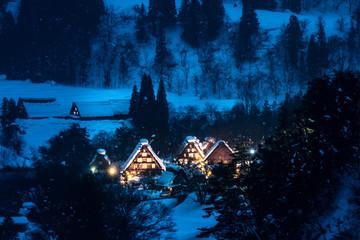 Shirakawa-go in winter