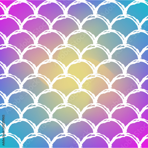 Squama on trendy gradient background square backdrop with squama squama on trendy gradient background square backdrop with squama ornament bright color transitions stopboris Gallery