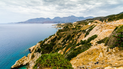 Panorama über Insellandschaft