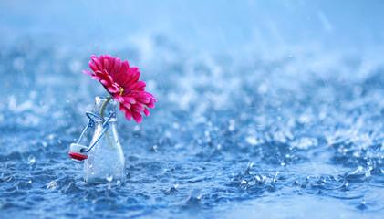 erfrischender Regen