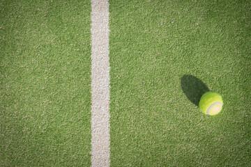 Lamas personalizadas con tu foto Paddle tennis court and ball