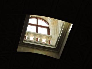 Detalle techo interior Archivo General de Indias, Sevilla