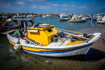 Piccolo porto di pescatori Sicilia