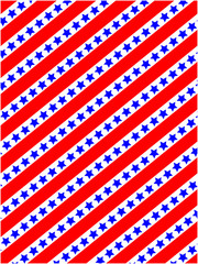 American flag symbols stylized striped background