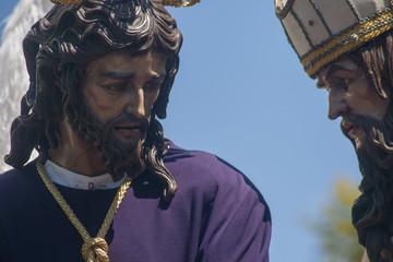 Jesús ante caifás, hermandad de San Gonzalo, semana santa de Sevilla
