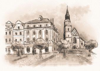 Artwork Boleslawiec, Dolnoslaskie Poland