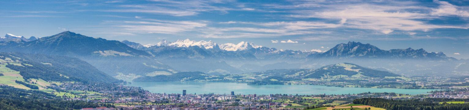 Kappel am Albis region, Zurich, Zug, Switzerland