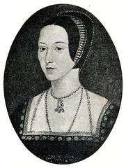 Anne Boleyn, second wife of King Henry VIII (from Spamers Illustrierte Weltgeschichte, 1894, 5[1], 581)