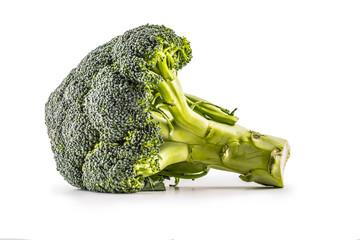 Broccoli. Raw broccoli isolated on white background