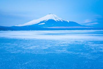 山中湖からの富士山2018