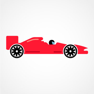 Racing car graphic design, Vector illustration