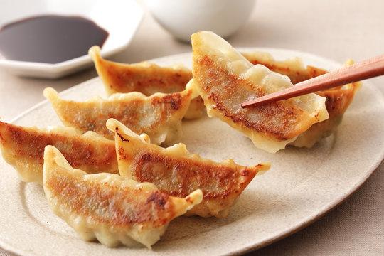焼き餃子 Grilled dumplings
