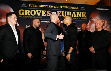 George Groves & Chris Eubank Jr Press Conference