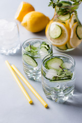 detox water for drinking during and after exercise