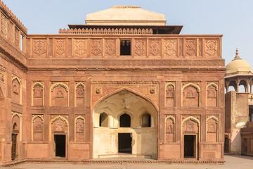 palace inside Agra Fort, Agra, Uttar Pradesh, India